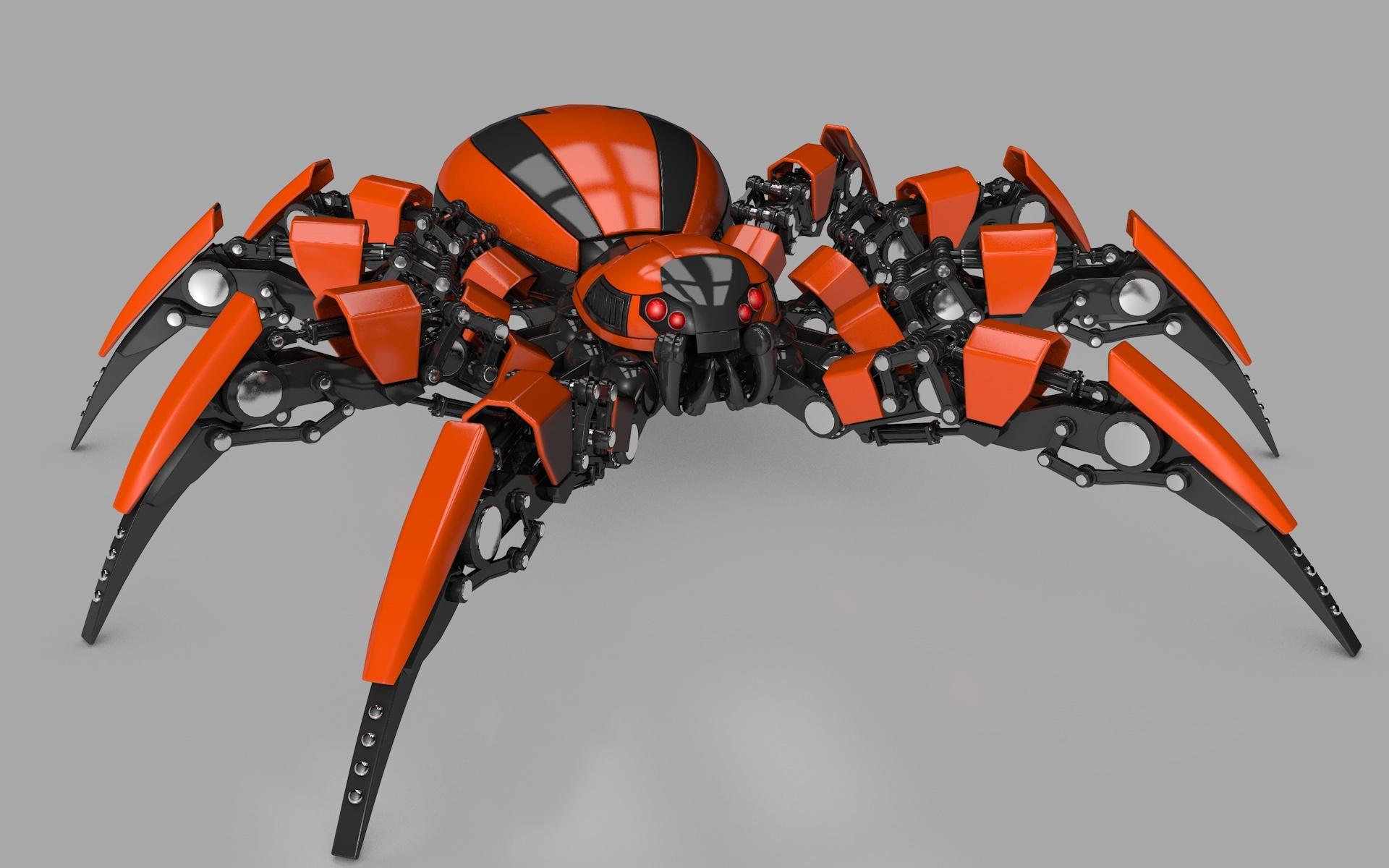 spider robot - gatrea