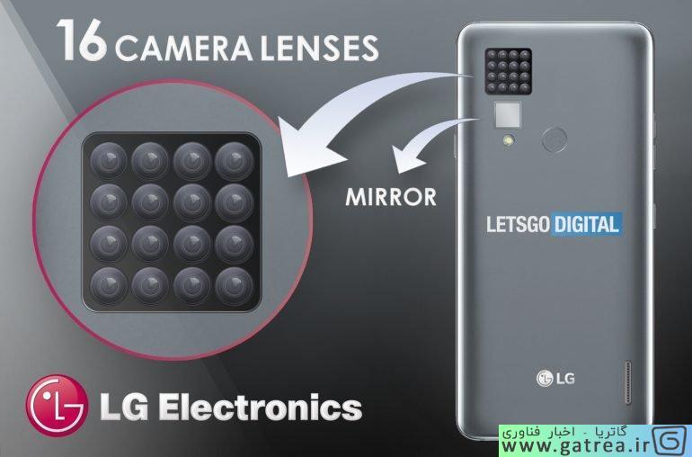 گوشی با 16 دوربین