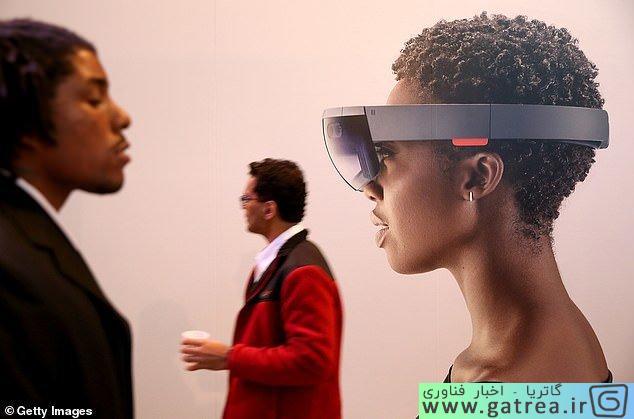 هدست واقعیت مجازی هولولنز مایکروسافت - گاتریا