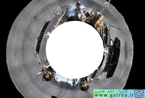 360 درجه از ماه