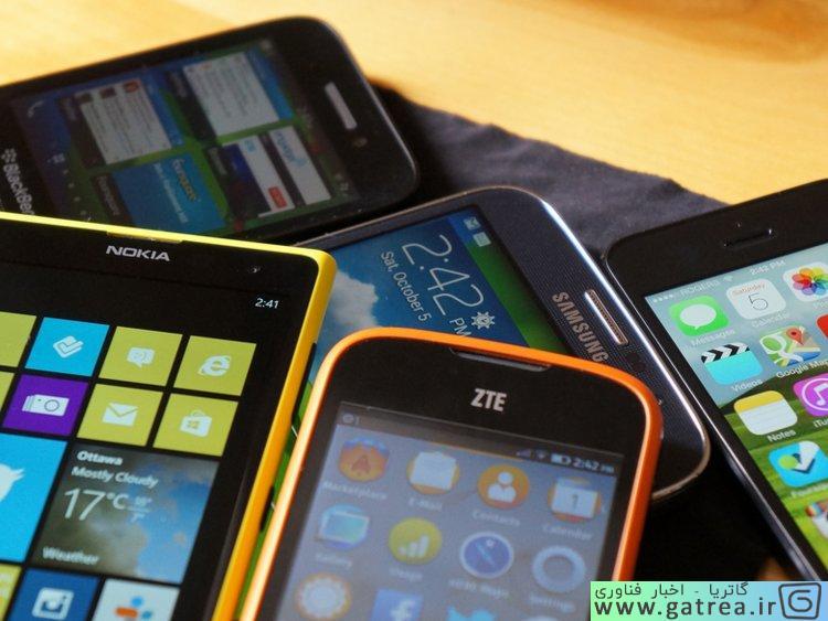 موبایل ها