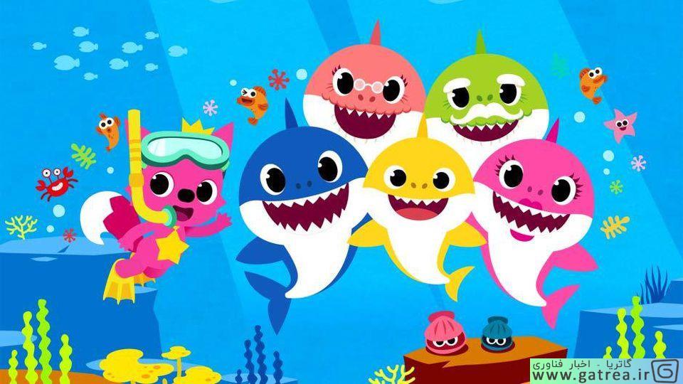 کارتون baby shark