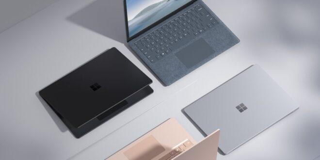 مایکروسافت سرفیس 4 - جیتوپیا