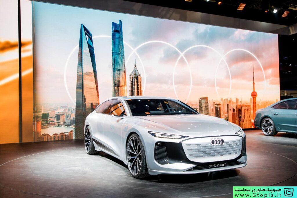 Auto Shanghai 2021 - audi a6 etron